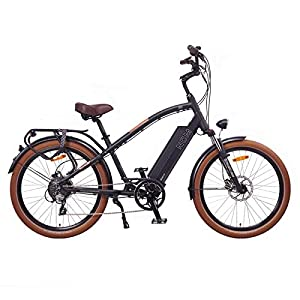 "41XD6MuDhiL. SS300 NCM Miami 26"" Bicicletta elettrica Cruiser Retro E-Bike 48V Batteria 16Ah 768Wh Nero"