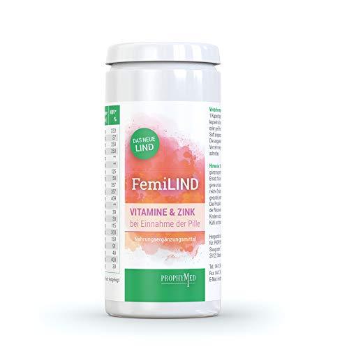 FemiLIND Multivitamin Kapseln für Frauen (60 Kapseln) - hochdosierte Frauen Vitamine, Zink & Frauen Mineralien, natürlich gegen Nährstoffmangel entgegenwirken, für eine ideale Balance der Nährstoffe