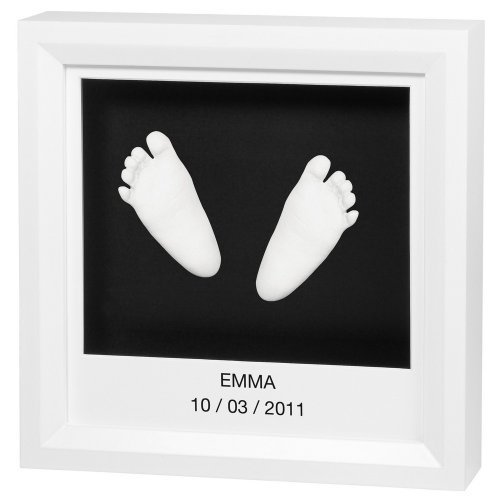 Baby Art Window Sculpture Frame (White & Black) by Baby Art
