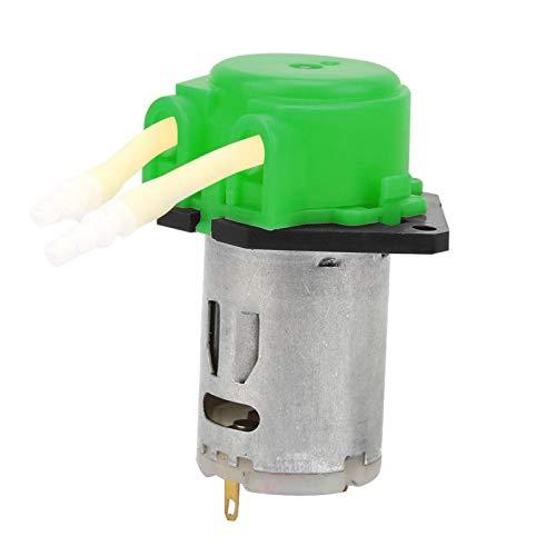 DAUERHAFT Bomba peristáltica autocebante sin Tensor de Flujo Constante 2 * 4 mm para análisis de Laboratorio para experimentos(Green)