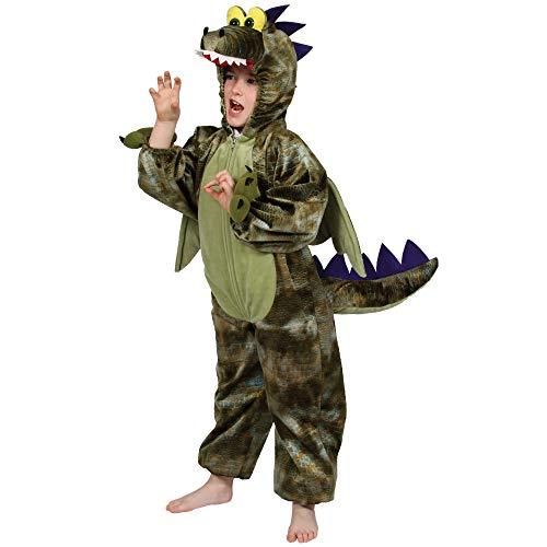 Dragon / Dinosaur costumes de grands 7-8 ans. Tout en un combinaison avec capuche