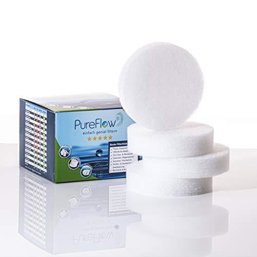 PureFlow hochwertige Skimmerfilter für Intex Deluxe Einhängeskimmer in Intex Pools Oberflächenskimmer Skimmer Pool (3X Skimmerfilter)