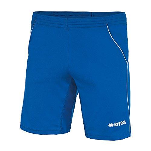 Erreà Ivan AD Tennisshorts (kurz) mit Hosentaschen Herren Sporthose für Tennis, Tischtennis, Schwimmen, Freizeit und viel mehr · (Farbe blau-weiß, Größe XXL)