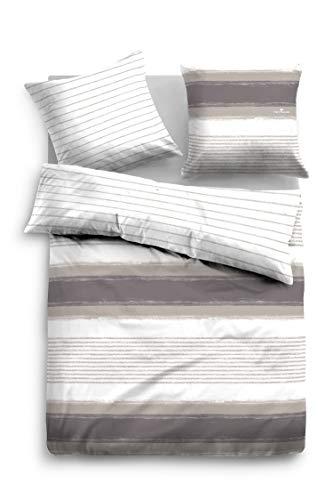 TOM TAILOR Mako-Satin Bettwäsche 69763-844 1 Bettbezug 135x200 cm + 1 Kissenbezug 80x80 cm