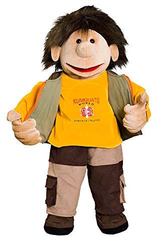 Original KUMQUATS Handpuppe Marvin zum An-und Ausziehen
