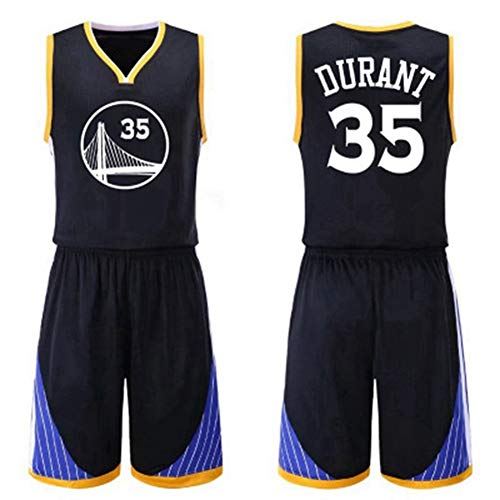 HS-wtyu04 Golden State Warriors # 35 Kevin Durant Uniformes del ...