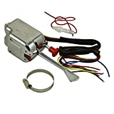JDMSPEED New Chrome 12V Universal Street Hot Rod Turn Signal Switch Replacement for Ford Buick GM
