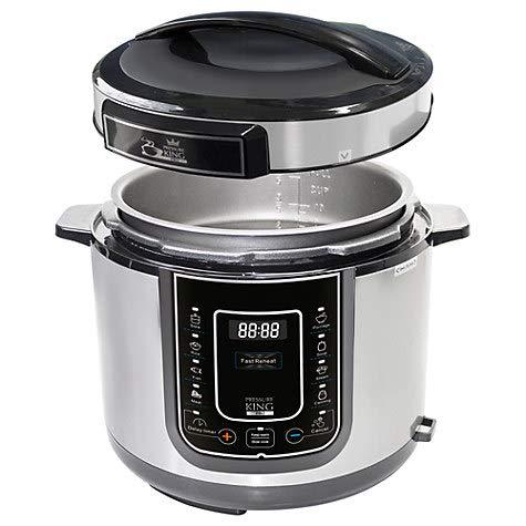 BOTOPRO - Pressure King Pro 5L, el Robot de Cocina 12 en 1. Olla multifunción para cocinar Todo Tipo de Recetas - Anunciado en TV
