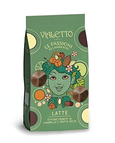 VIALETTO le Passioni di Lamberto | Praline Cioccolato al Latte con Caramello e Frutta Secca | Confezione 150 g
