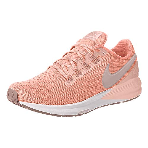Nike Air Zoom Structure 22 Women's Running Shoe Pink Quartz/Pumice-Washed Coral 6.5