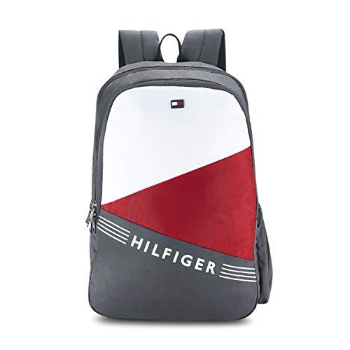 Tommy Hilfiger Bentley 24 Ltrs Grey Laptop Backpack (TH/BENTLEYLAP07)
