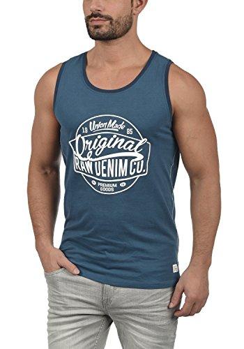 BLEND Walex - Camiseta sin Mangas Hombre, tamaño:L, Color:Ensign Blue (70260)