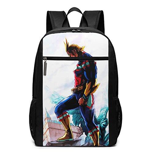 Bolsa de viaje para portátil Bapa de 17 pulgadas My H-Ero ACA-De-Mia College School Bookbag bolsa de ordenador casual Daypa para mujeres y hombres
