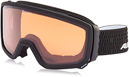 ALPINA Erwachsene Scarabeo QH Skibrille, Black Matt, One Size