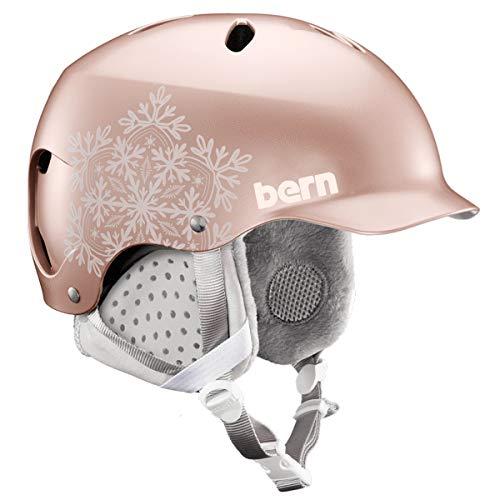 Bern Damen Lenox Helm, Satin Rose Gold, S