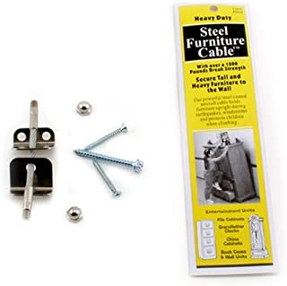 Best quakehold! steel furniture cable Reviews