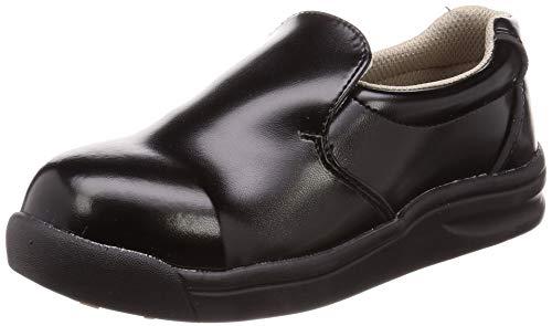 [ノサックス] 厨房靴 耐滑コックシューズ 先芯入り GKS-B 黒 グリップキング メンズ ブラック 30 cm 3E