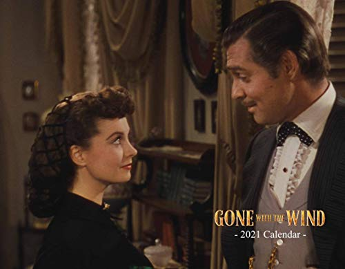 Gone with The Wind Calendar 2021 - Made in The USA - Wall Size, Spiral Bound