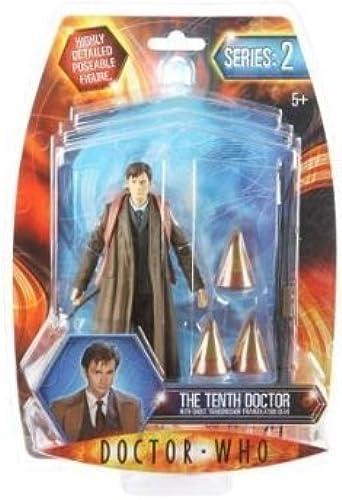 tienda en linea Doctor Who David Tennant Series 2 2 2 Figure with Ghost Transmission Triangulation Gear by Character Options  barato en línea