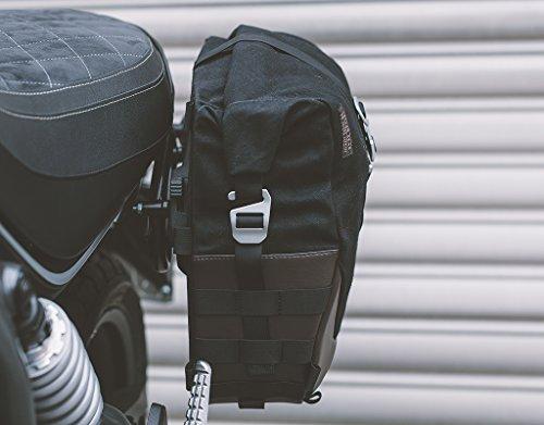 SW-MOTECH Legend Gear Seitentasche LC2 - Black Edition 13,5 l. Für SLC Seitenträger rechts.