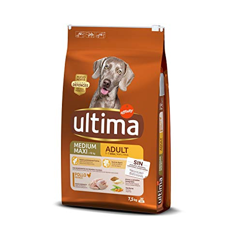 ultima Pienso para Perros Medium-Maxi Adulto con Pollo - 7,5 kg