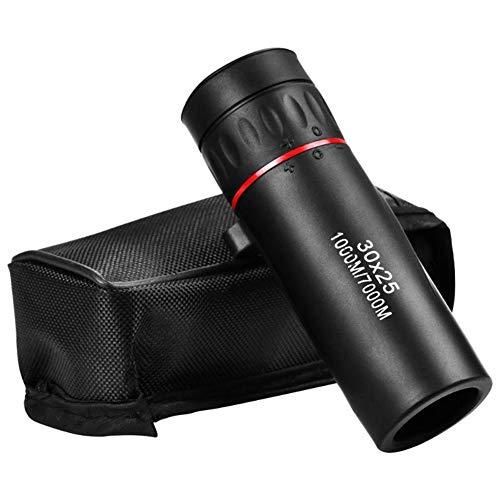 YDM 30X25 Optisches Zoom Feldstecher Teleskope Clear View Red Film Jagd HD Fernglas Einstellbare Brennweite Oder 7X Monokulare