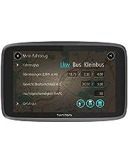 TomTom LKW Navigationsgerät GO Professional 6250 (6 Zoll, Sonderziele und Routen für LKW, Stauvermeidung dank TomTom Traffic, Karten-Updates Europa, Updates über Wi-Fi, hochwertige Halterung)