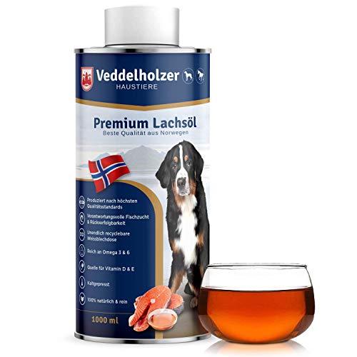 Veddelholzer -   Lachsöl für Hunde