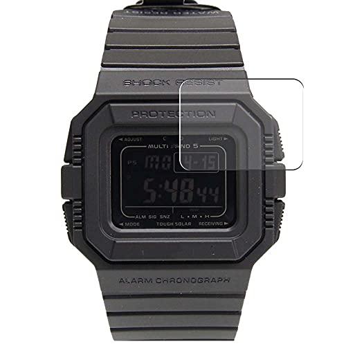 Vaxson 3 Unidades Protector de Pantalla, compatible con CASIO G-SHOCK GW-5500 [No Vidrio Templado] TPU Película Protectora Film Guard
