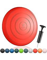 BODYMATE Balkussen COMFORT Diameter 33 cm incl. pomp - Zitbalkussen, luchtkussen, balanskussen, noppenkussen - Voor core-, fitness-, revalidatie-, coördinatie- en rugtraining