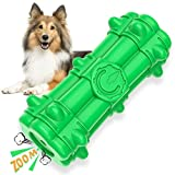 bluefire giocattolo da masticare per cani giochi per cani con squeak, interattivi giocattoli gomma naturale giocattolo, pulizia dentale spazzolino per cani per piccoli medio grande cani