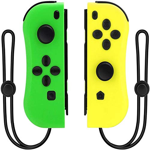 Joy Con Controller Replacement for Nintendo Switch/Switch lite,Alternatives for Nintendo Switch Controllers, L/R Joycon Pad with Wrist Strap, Wireless Switch Remote