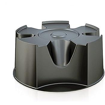 Standfuss Untersetzer Sockel für Regentonne Regenfass Tegenspeicher in schwarz von rg-vertrieb