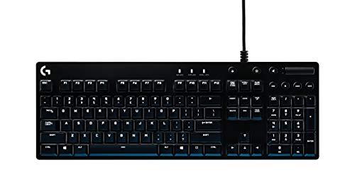 Logitech G610 Orion Red BeleuchteteMechanische Gaming Tastatur(QWERTZ, deutsches Tastaturlayout)schwarz (Generalüberholt)