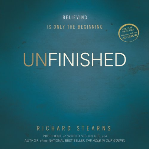 Unfinished audiobook cover art
