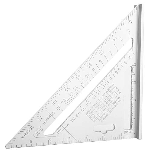 Regla del triángulo, material de aleación de aleación de aleación de aluminio especial con fórmula de conversión de aleación de aluminio