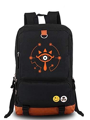 YOYOSHome Luminous Anime The Legend of Zelda Cosplay Daypack Laptop Tasche Rucksack Schultasche