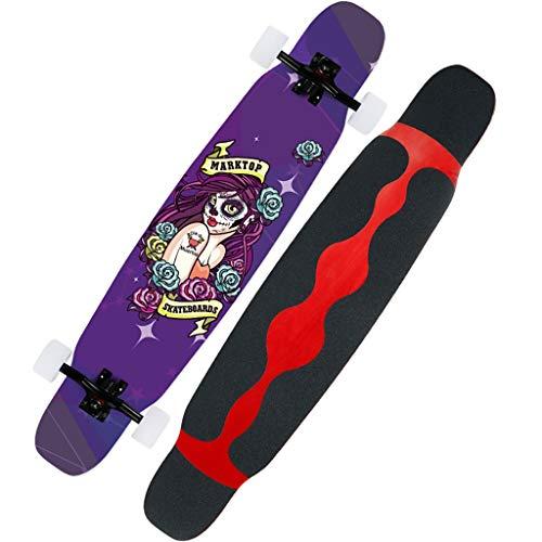 YXB Quattro Ruote Scooter Esterna con Striscia anticollisione Sticker for Adolescenti Ragazzi Ragazze H1/22 (Color : C)