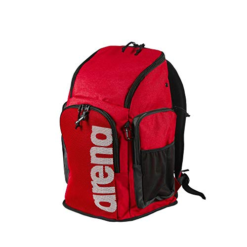 ARENA Bolsa Backpack 45, Unisex Adulto, Team Red, Talla Única