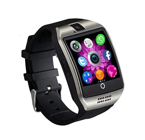 Reloj Inteligente Mujer Hombre Smartwatch Pulsera de Actividad Inteligente con Pantalla Táctil Ranura para Tarjeta SIM Cámara para