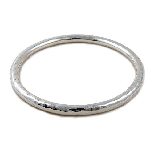 Armreif Sterling-Silber 925 gehämmert oval