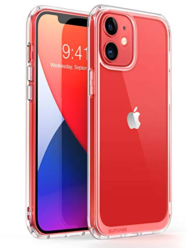 SUPCASE Funda iPhone 12 mini 5.4 Pulgadas [Unicorn Beetle Style] Ultrafina Trasera Transparente Carcasa para Apple iPhone 12 mini 2020 - Transparente