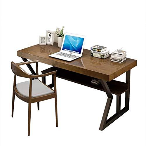 FURVOKIA 1-Pair Fashion Simple 2-Tier Metal Legs,DIY Decor Storage Shelf Legs,Coffee Dining Tables Legs,Desk Legs,End Table Legs,Bench Legs (Only Legs 28' Tall X 17.7' Wide, Black)