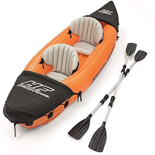 FACAI Inflatable Kayak 2 Person Aufblasbares Kajak Canoe Boat Paddles Personen Faltkajak