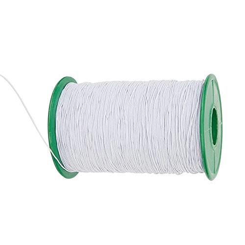 RENSHENKTO El alambre elástico de la fibra del estiramiento que rebordea los hilos negros del diámetro 1 rollo negro