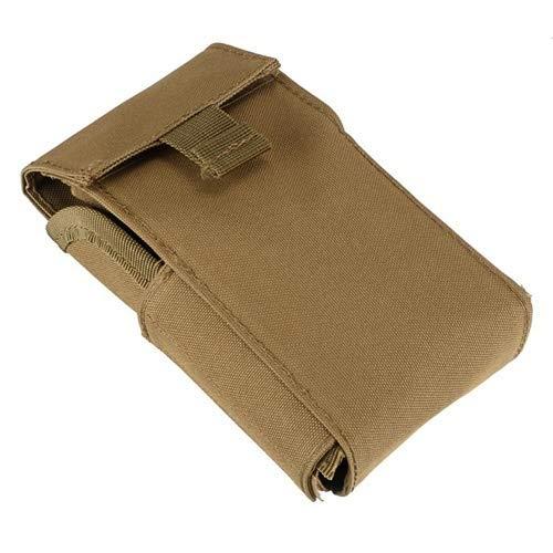 NO LOGO XFC-Qiang, Táctica de la munición Bolsas Molle 25 Round 12ga de munición de Calibre 12 Cartuchos de Escopeta Recargar Revista Bolsas Arma de la Caza de Accesorios (Color : Khaki)