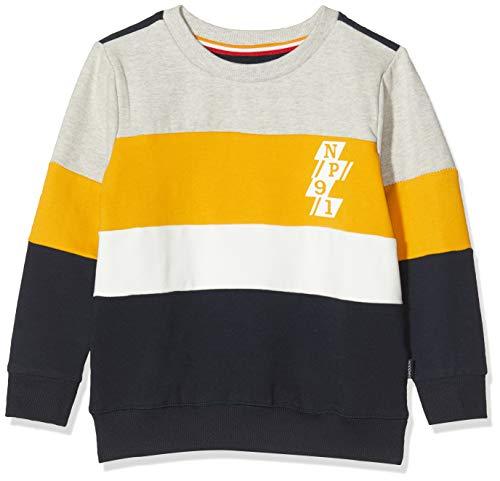 Noppies Jungen B Sweater ls Cambodilo Sweatshirt, Mehrfarbig (Dark Sapphire P208), (Herstellergröße: 116)