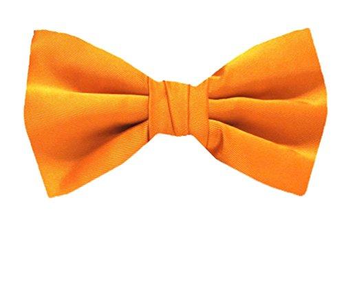BuyYourTies - Nœud papillon - Homme - Orange - Taille Unique