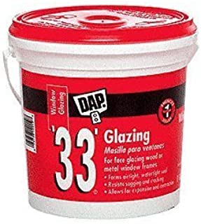 dap 33 glazing compound