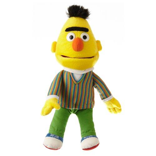 Living Puppets Handpuppe Bert aus der Sesamstraße 37 cm